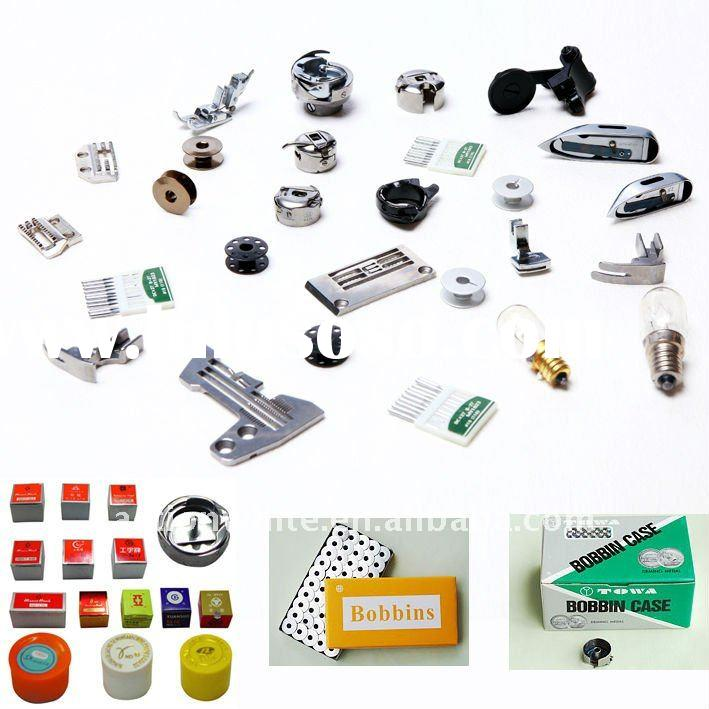 Industrial Sewing Machine Parts/Hooks/Bobbin/Bobbin Case/Presser Foot/Loopers/Needle Plate/Feed Dog/