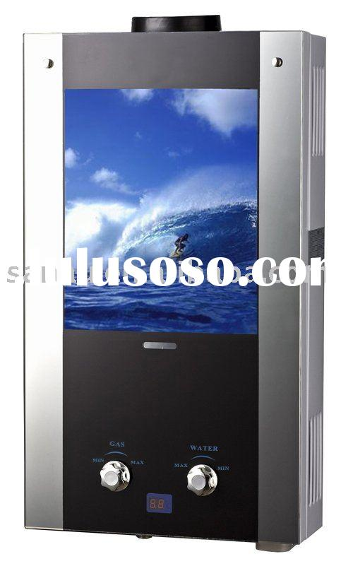 Instant natural exhaust gas water heater