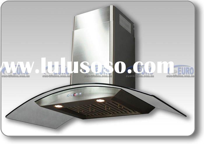 Italian Style Wall Stainless Steel Glass Range Hood [AirPRO AP238-PSD-42]