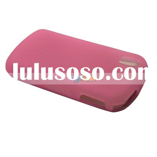 Mobile Phone Silicone Cover For Samsung Instinct S30 M810 Pink