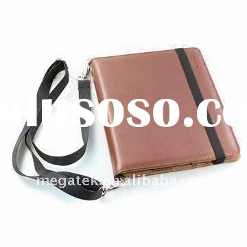 Notebook leather case bag for ipad 2 2g