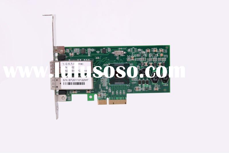 PCIE Dual Port Gigabit Ethernet Server Adapter Lan Card (SFP Slot)