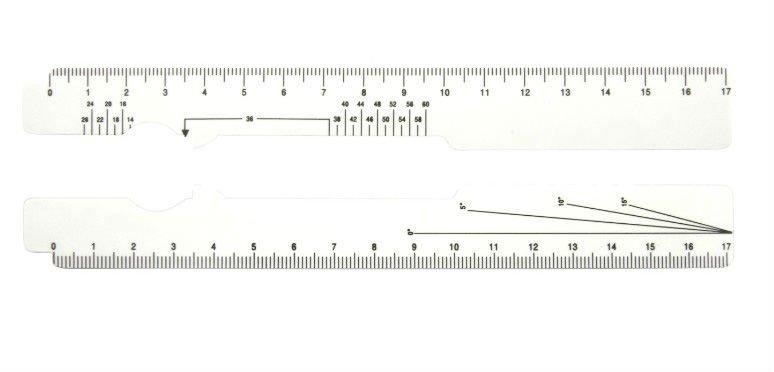 photograph about Printable Pd Ruler named printable pd dimensions device - OnlyOneSearch Achievement
