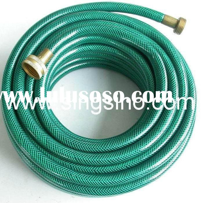 PVC Fabric Braided Water Coiled Clear Garden Hose