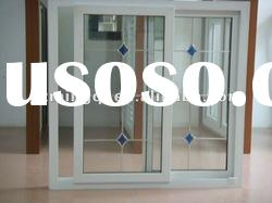 PVC window grills design for sliding windows