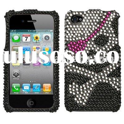Pirate Hard Diamante Phone Case Cover Apple iPhone 4