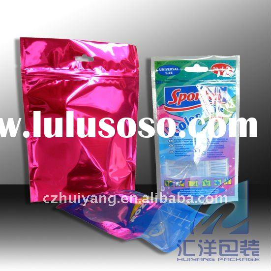 Plastic detergent washing powder pouch bag packaging