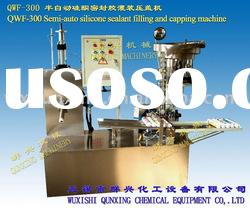 QWF-300 semi-automatic filling and capping machine for silicone sealant