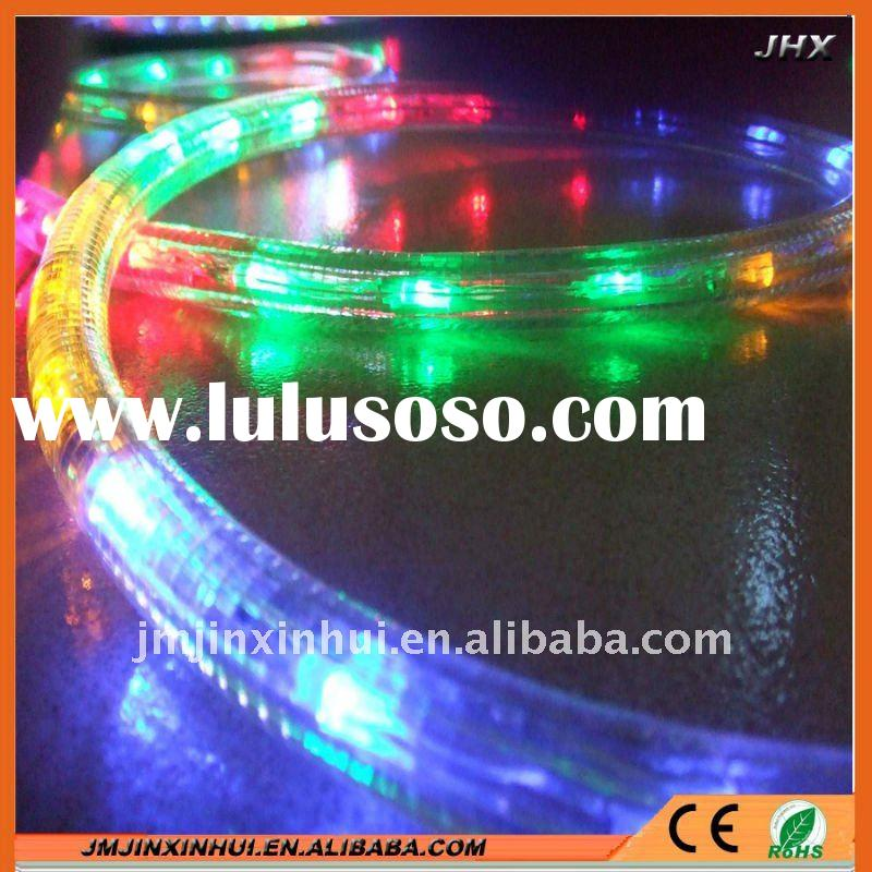 RGB round led rope light