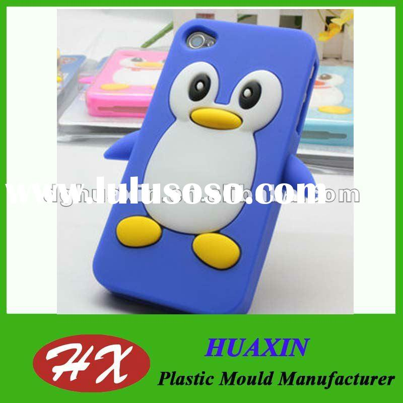 Rubber silicone cell phone back cover
