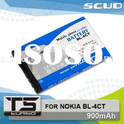 SCUD T5 Lithium Rechargeable Battery Pack for NOKIA BL-4CT 900mAh
