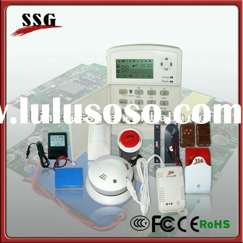 Safe house alarm system based on GSM network