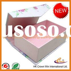 Strong cardboard paper gift packaging box