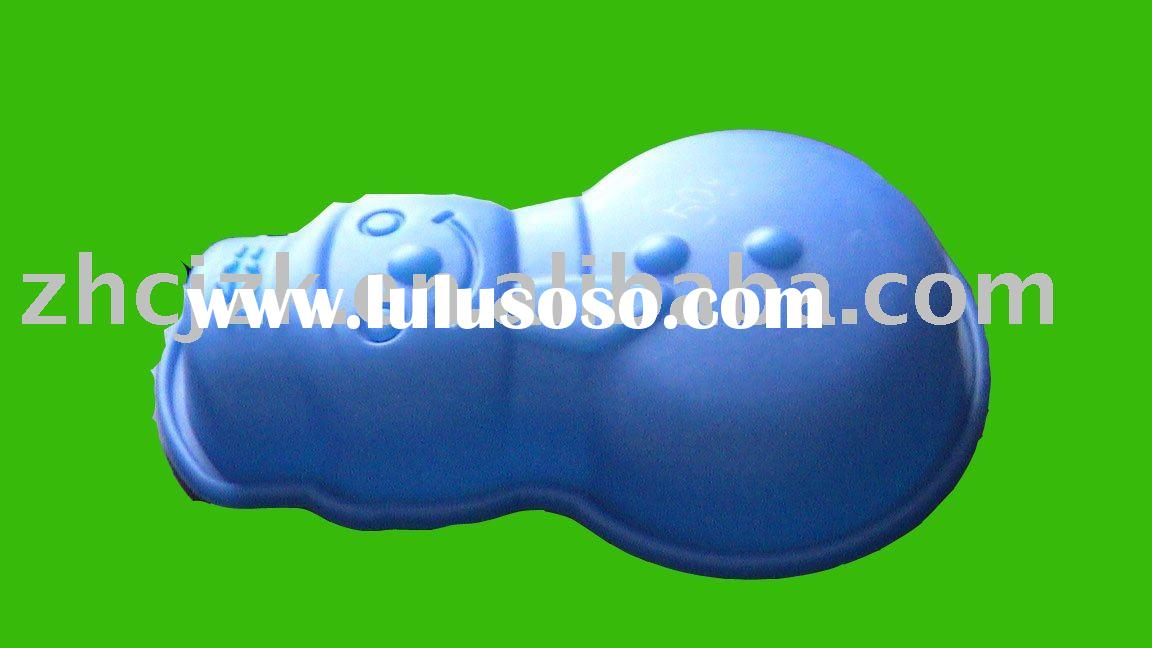 The baby shaped silicone cake mould