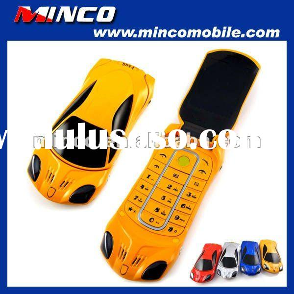 Unlocked GSM Dual SIM Luxury Mobile Phone F599 Car Cell Phone