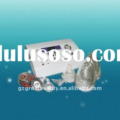 Vacuum breast enlargement/breast massage equipment