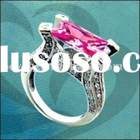(Toll-free: +1-888-5513593) wholesale silver ring with zircon