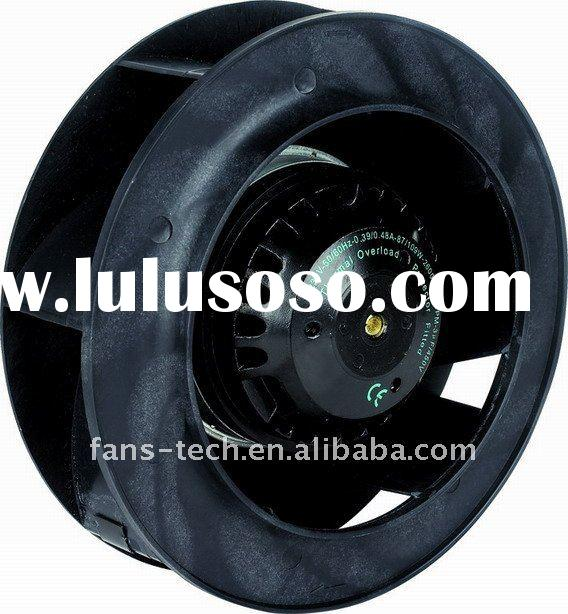 ac centrifugal wall mounted exhaust fan backward curved 190mm