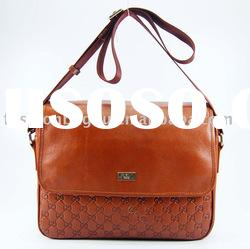 brown leather handbags men's messenger bag