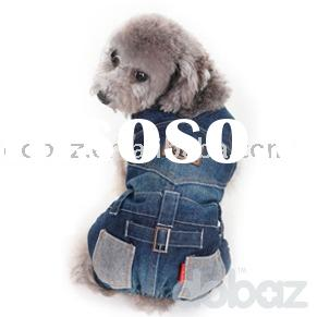 dog jeans dog trousers (100% cotton) dobaz brand