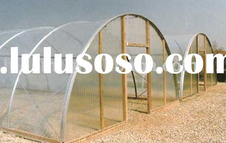 hollow polycarbonate sheet-solid polycarbonate sheet-glass greenhouse
