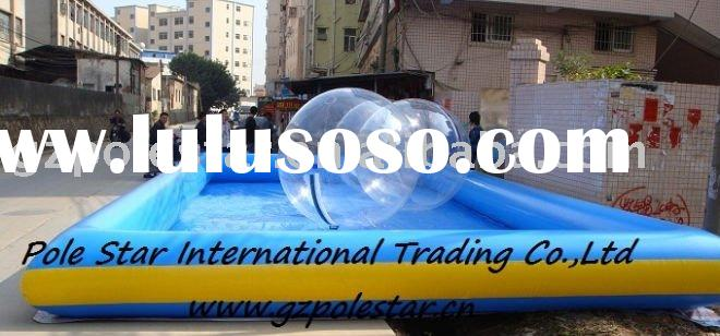 inflatable water ball and pool