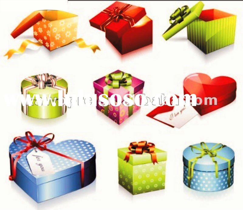 jewelry gift paper packaging box for valentine's day