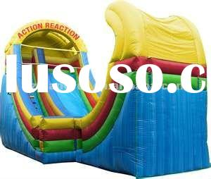 large inflatable water slides for rental use