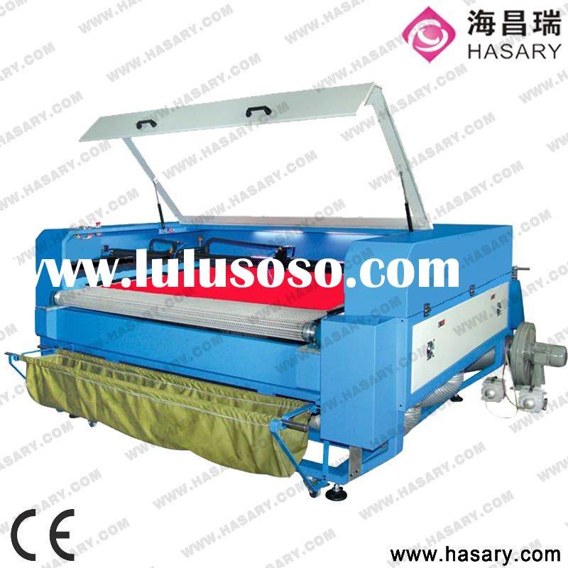 laser fabric cutter with auto feeding system