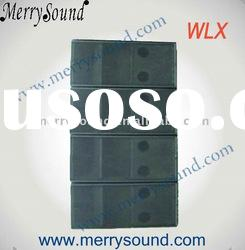 line array sub-bass, speaker box, speaker cabinet, audio system (WLX)