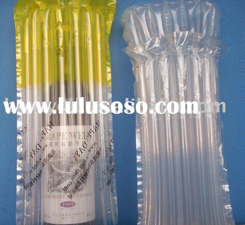plastic bag for wine bottle
