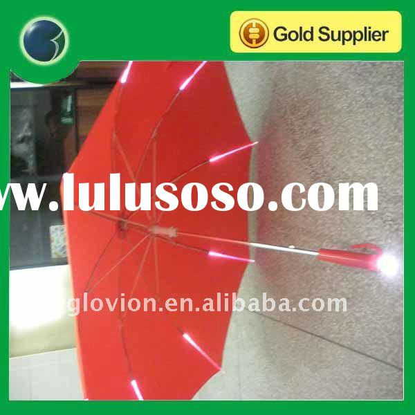 pole light led umbrella light up umbrella with led