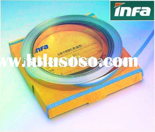 stainless steel banding strap ,Naked stainless steel cable tie