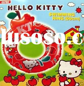 swimming ring/hello kitty ring/baby swimming ring