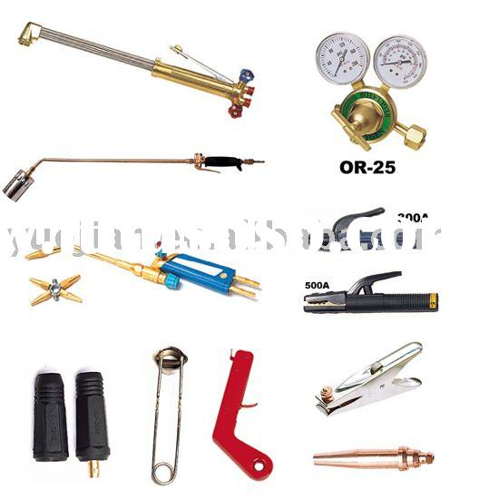 welding accessories(cutting torch,electrode holder,electrode holder,cutting nozzle)
