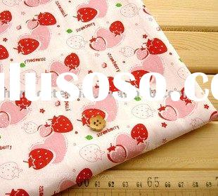 100%cotton Active printed baby bedding fabric