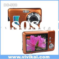 12MP digital photo cam (digital camera) with 2.7 inch LCD and 8X digital zoom