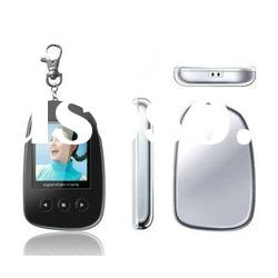 1.5inch digital photo frame keychains with TFT screen 128*128
