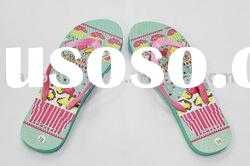 2011 women's cheap beach rubber slipper sandals flip flops