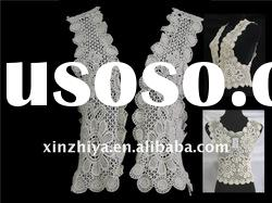 2012 fresh african top, embroidery cotton lace top/french lace top /garment lace trims topYF11060
