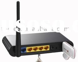 3g wifi router with USB modem Slot and 4 Lan port