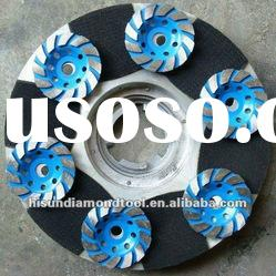 4''Diamond grinding cup wheel for granite, Stone, concrete floor