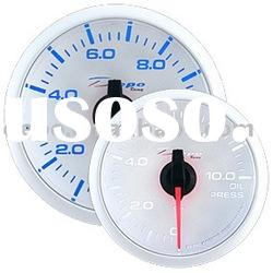 52mm Stepper Motor Oil Pressure Auto Racing Gauge