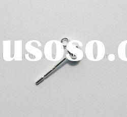 925 sterling silver Earring Pin Jewelry Accessories Findings Fittings