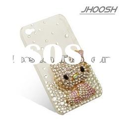 Bling bling rhinestone cell phone cases for samsung galaxy S2 SII T989