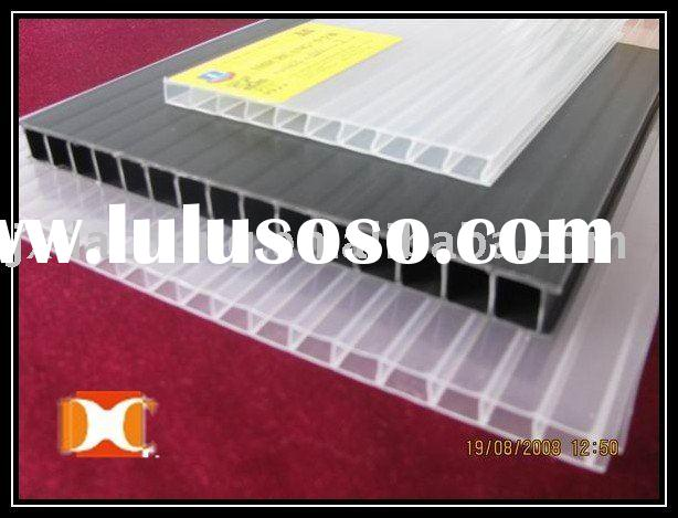 CLEAR PLASTIC PP CORRUAGTED SHEETS