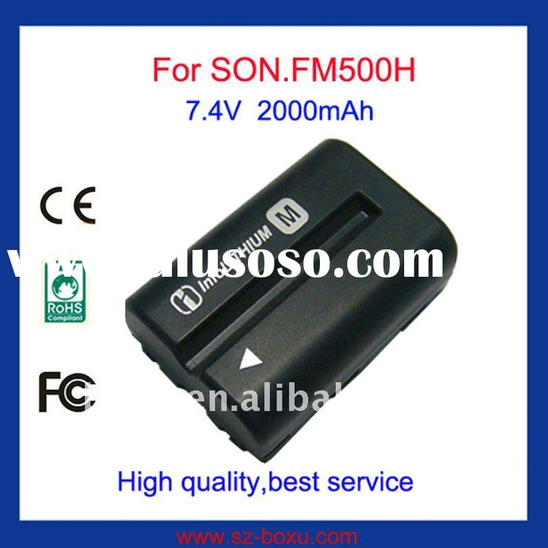 Camera Battery Pack for Sony Camera FM500H
