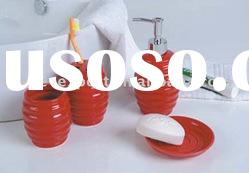Ceramic bath accessories,bathroom sets