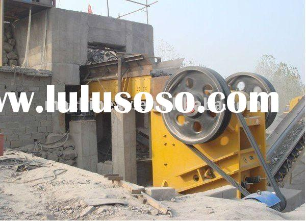 Gold, Copper ,Iron, Lead Zinc ore processing equipment Jaw crusher