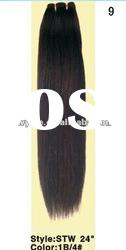 High quality 100% natural Brazilian hair extention